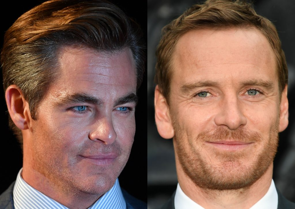 Chris Pine and Michael Fassbender have both shown their penises on screen
