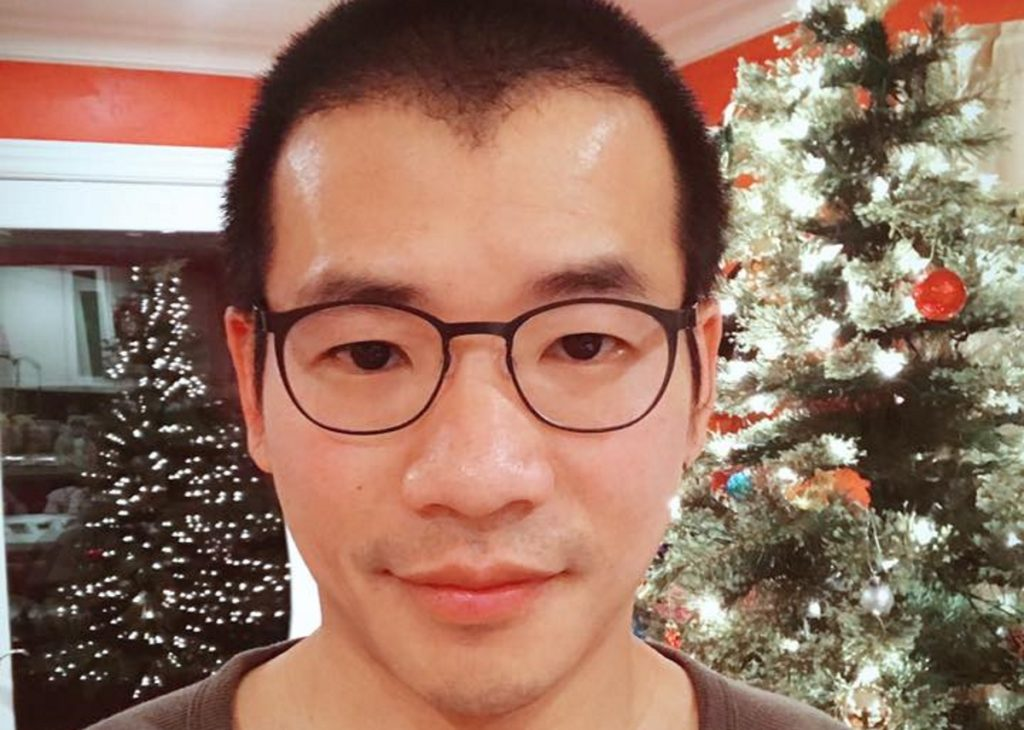Facebook picture of Grindr president Scott Chen (scott chen/facebook)