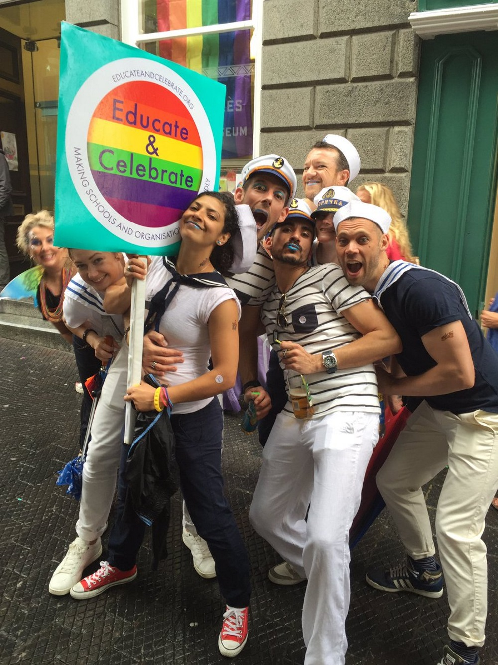 Guernsey Pride 2016 before same-sex marriages started