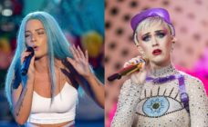 halsey and katy perry getty