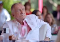 Hugh Hefner attends Playboy's 2013 Playmate Of The Year lunch