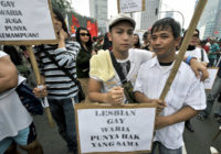 LGBT rally in Jakarta (Jewel Samad/AFP/Getty Images)