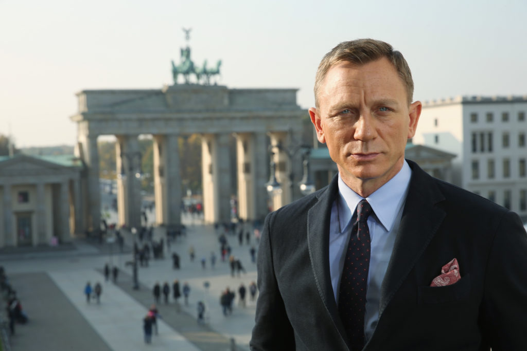 Actor Daniel Craig, who said 'anything is possible' in relation to a question about the possibility of a gay James Bond, pictured during a photocall in Berlin.