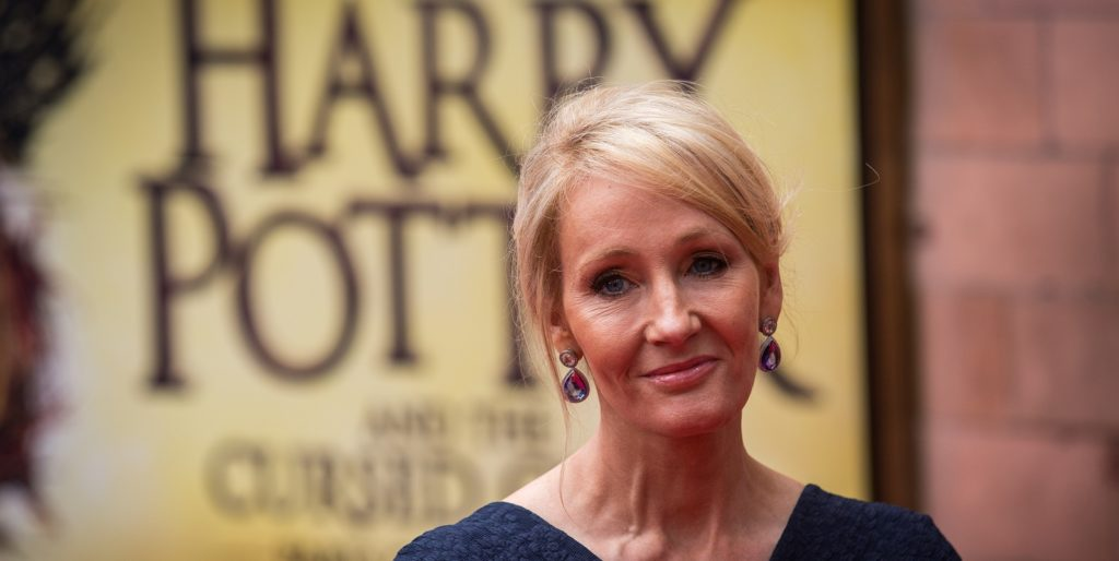 JK Rowling sexual assault - Harry Potter and the Cursed Child