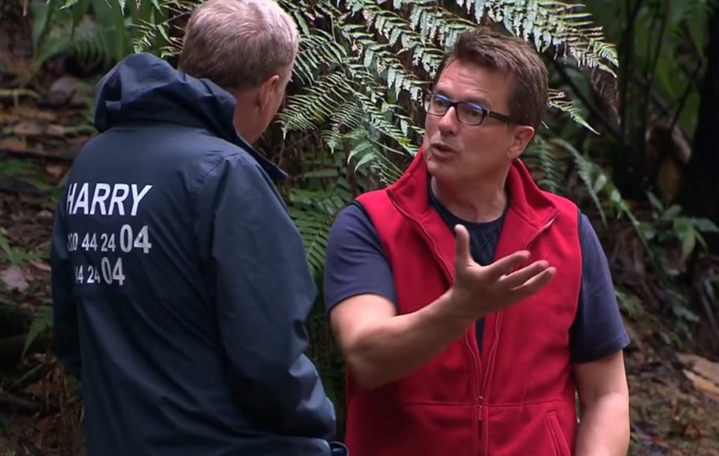 John Barrowman and Harry Redknapp on I'm a Celebrity… Get Me Out of Here!