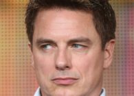 Photo of actor John Barrowman's face