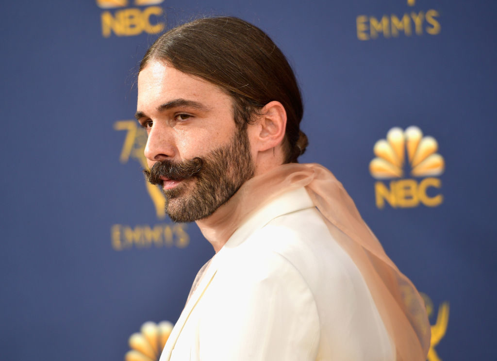 Jonathan Van Ness at the Emmys