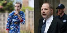 Killing Eve star Jodie Comer as Villanelle, and disgraced Hollywood mogul Harvey Weinstein