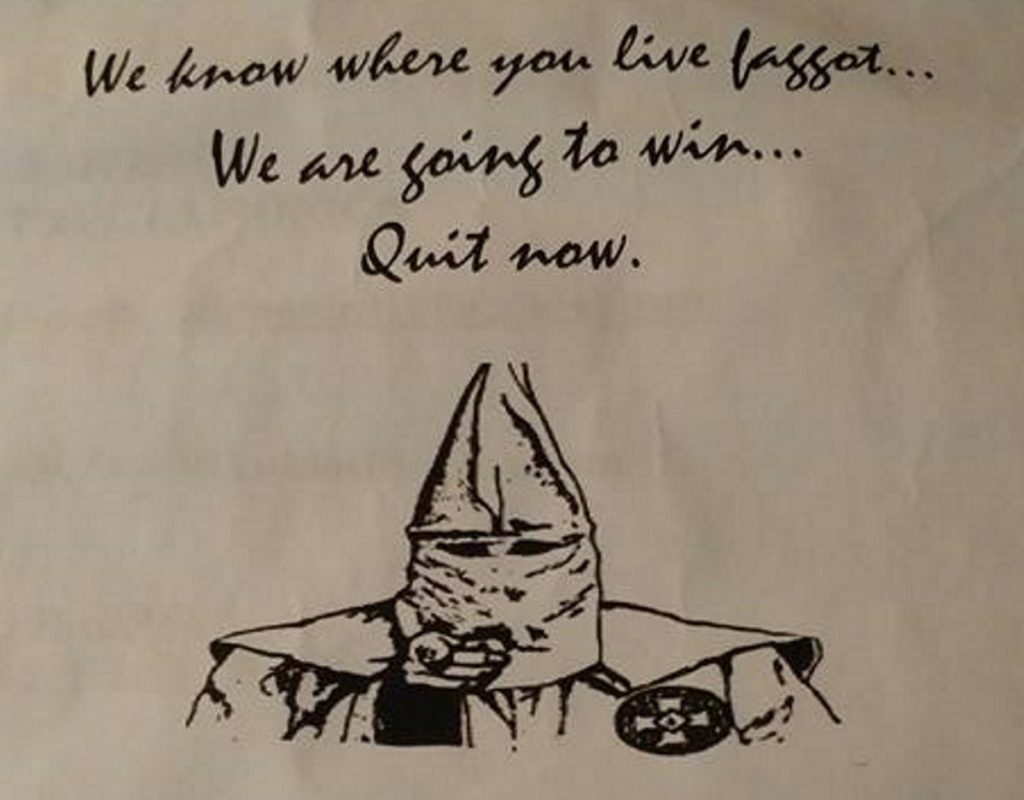 kkk letter to james schneider facebook crop