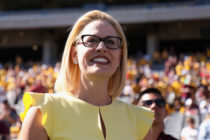 Democratic US Senator Kyrsten Sinema