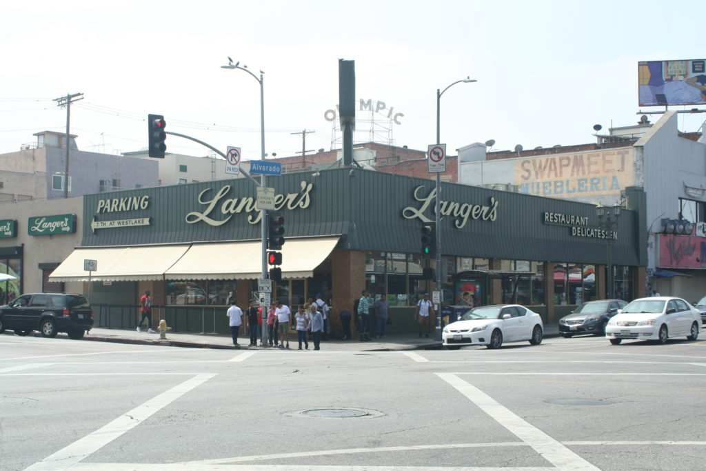 Langer's Deli in Los Angeles ejected a lesbian couple on a date