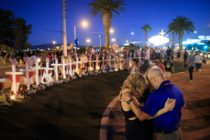 Memorial for the Las Vegas shooting (Drew Angerer/Getty Images)