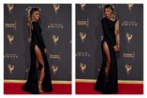 Laverne Cox at the 2017 Emmy Awards