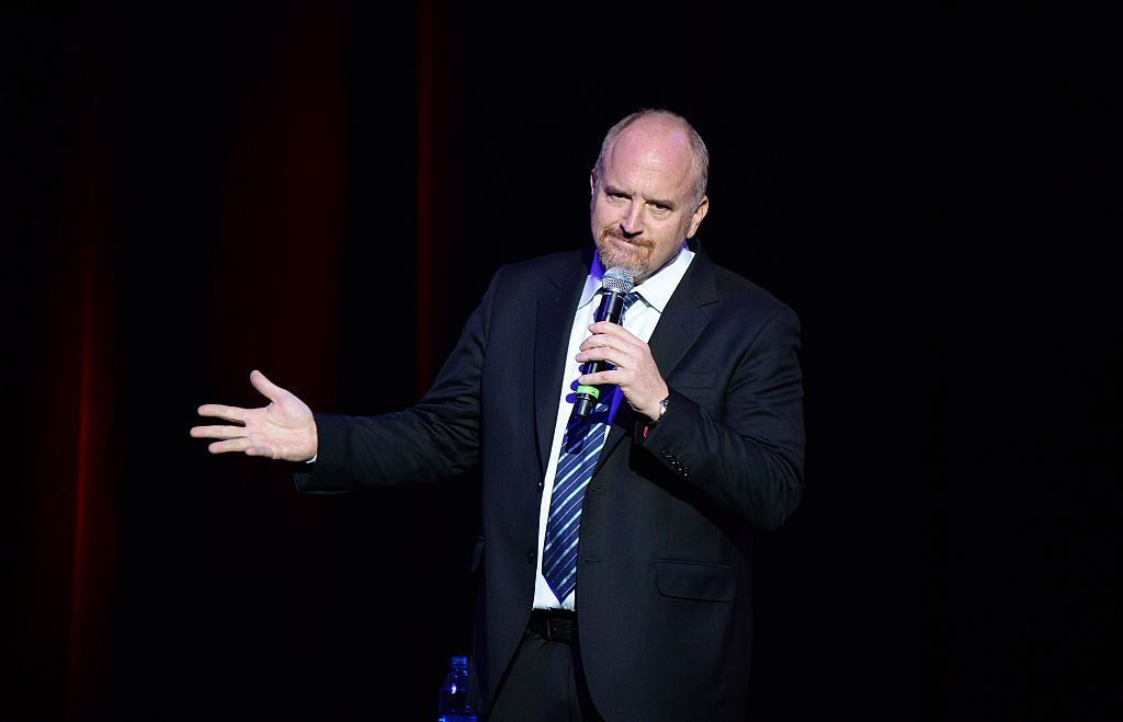 louis ck on stage