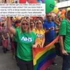 manchester pride nhs bb with men tweet