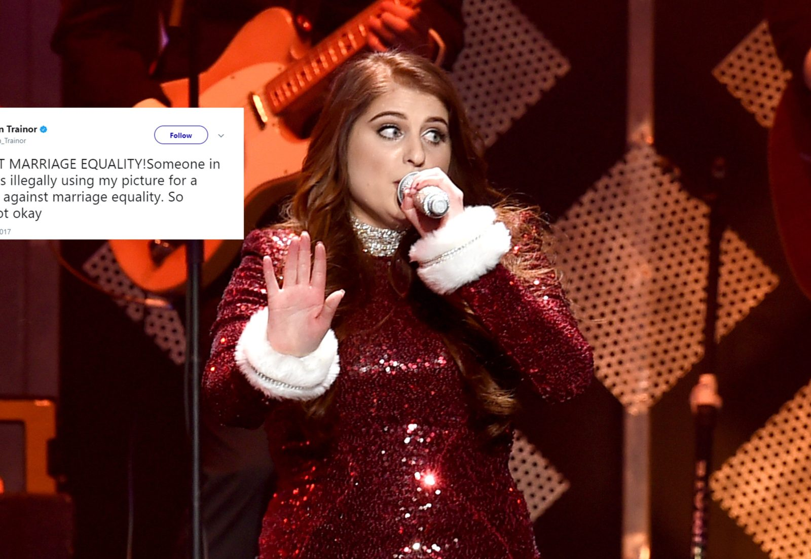 meghan trainor getty tweet