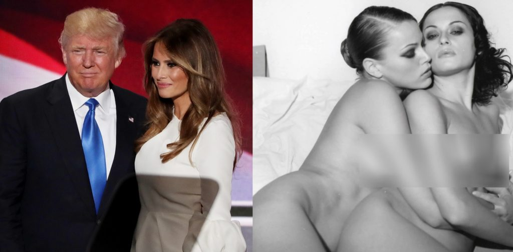 Wife naked trumps Donald Trump's
