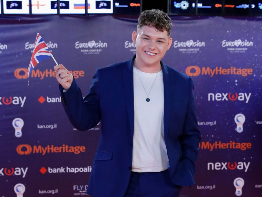 Eurovision algorithm predicts UK's Michael Rice will finish in 17th place