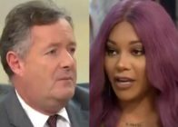 Piers Morgan and Munroe Bergdorf on ITV's Good Morning Britain on November 27, 2018