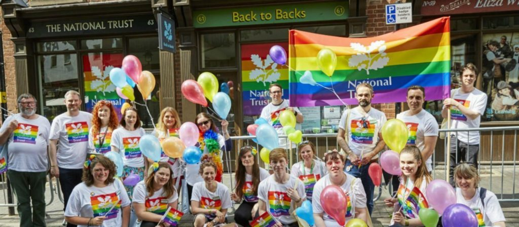 The National Trust supports LGBT rights (The National Trust)