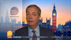 Brexit Party leader Nigel Farage defended Ann Widdecombe's comments