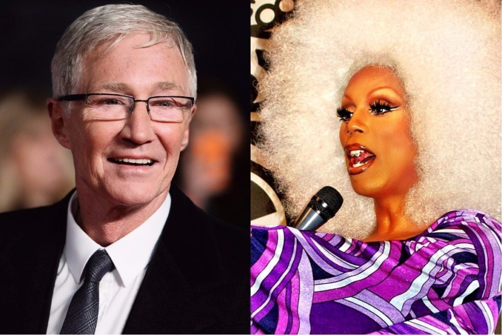 Paul O'Grady and RuPaul (Getty Images/David Shankbone)
