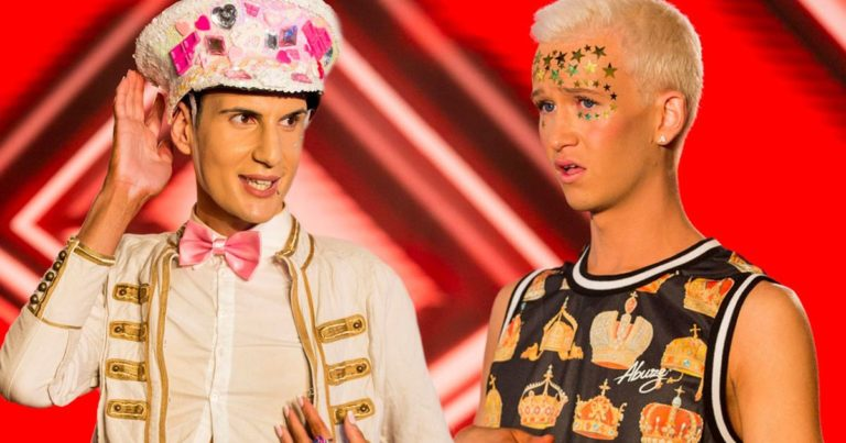 Gay X Factor contestants booted off show following weeks