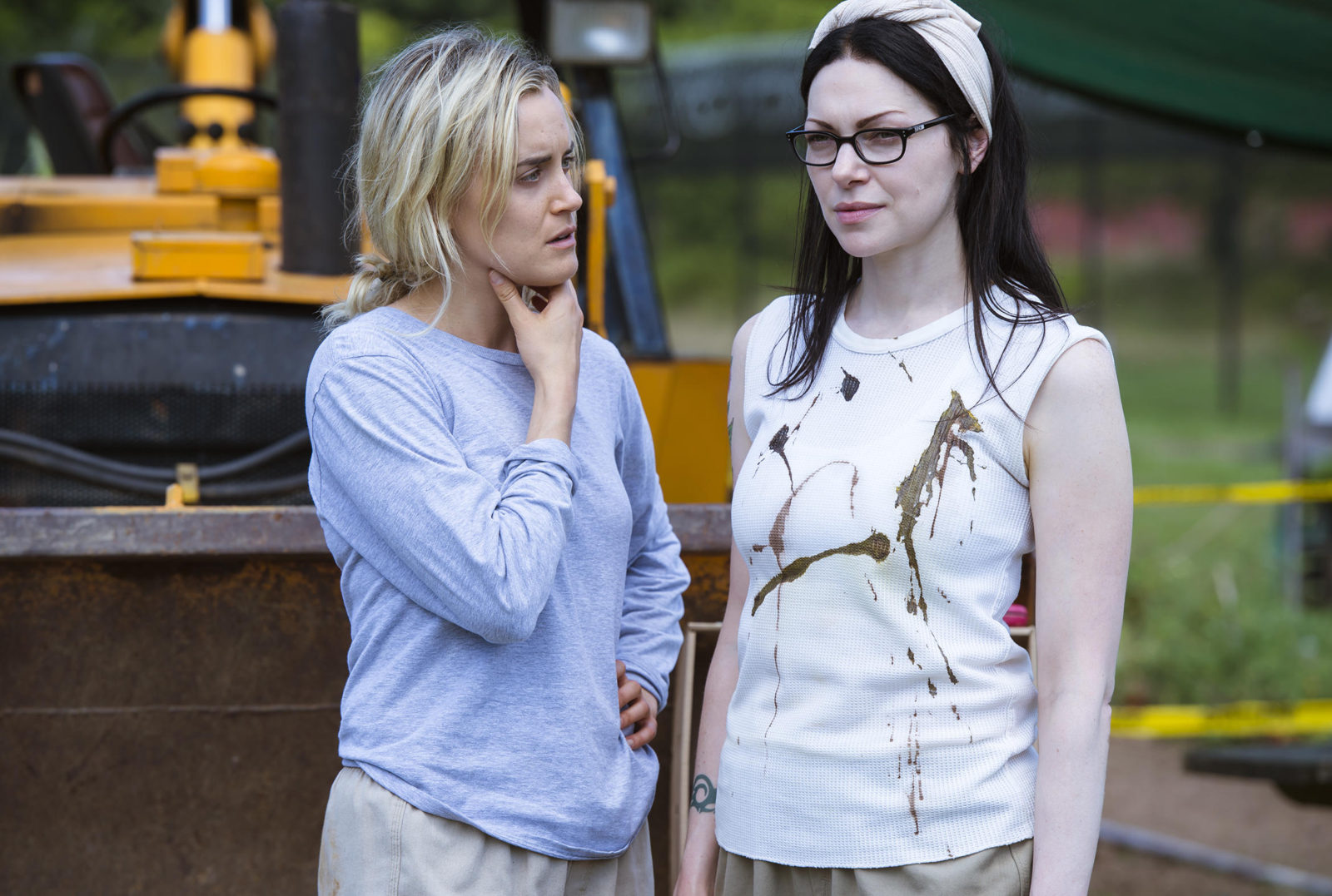 Orange Is The New Black Season 5 with alex and piper