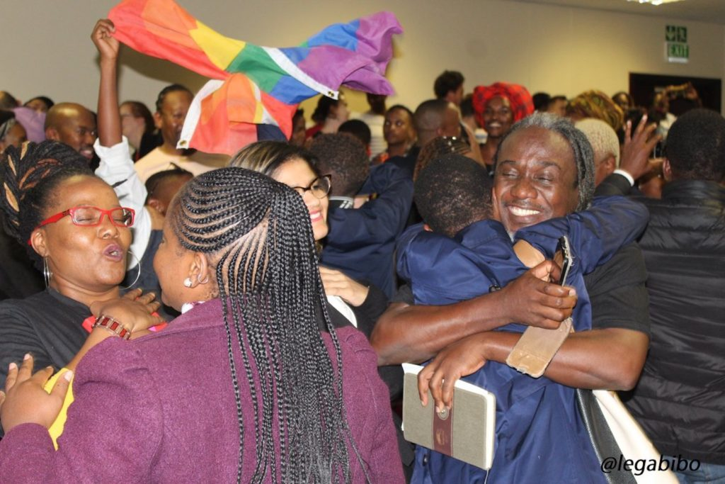 Botswana celebrates the historic decriminalisation of gay sex.