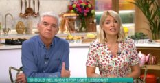 Phillip Schofield slams LGBT education protester for 'discriminating'
