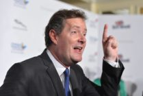 "TV host Piers Morgan arrives to BritWeek 2012's ""Evening with Piers Morgan"" on May 4, 2012 in Beverly Hills, California"