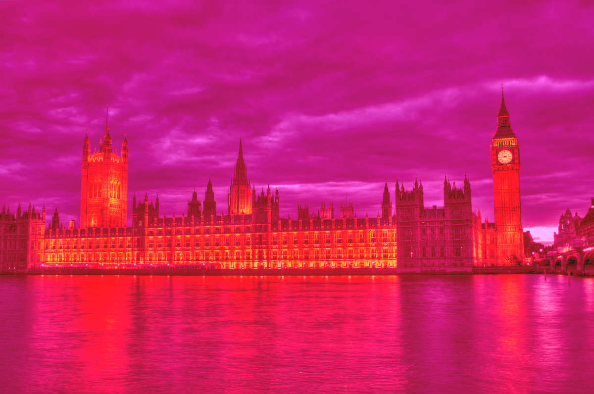 Pink Houses of Parliament