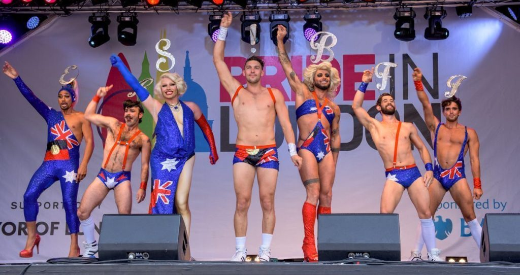 Pride in London 2017 stage