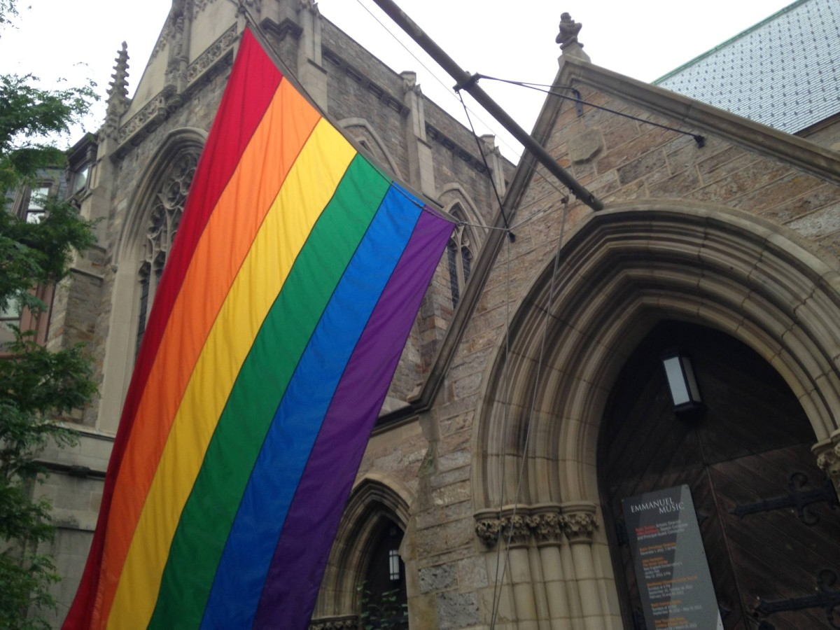 Image result for gay flag church