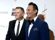 Ross Mathews and Salvador Camarena attend the 23rd Annual Race To Erase MS Gala