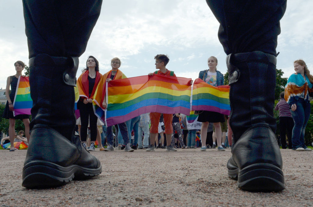 Human Rights Watch releases report that says Russia's gay propaganda law harms endangers LGBT+ youth