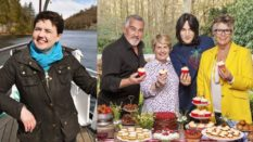 Ruth Davidson and the Great British Bake Off (Getty Images/Channel 4)