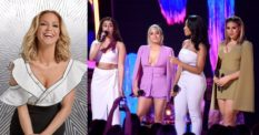 Sarah Harding and Fifth Harmony