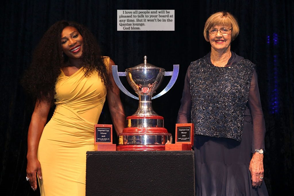 serena williams and margaret court