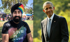Barack Obama Jiwandeep Kohli Rainbow Turban