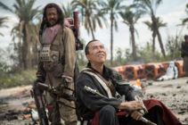 Chirrut Îmwe and Baze Malbus in Rogue One: A Star Wars Story