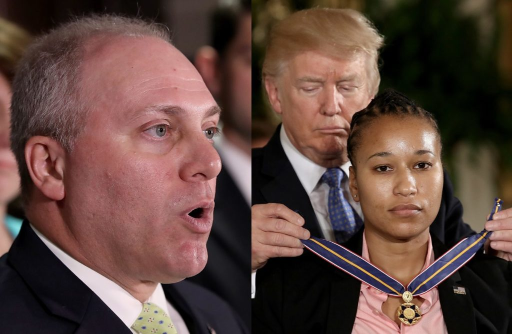 steve scalise crystal griner getty