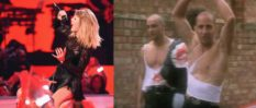 Taylor Swift and Right Said Fred (Getty/Youtube)