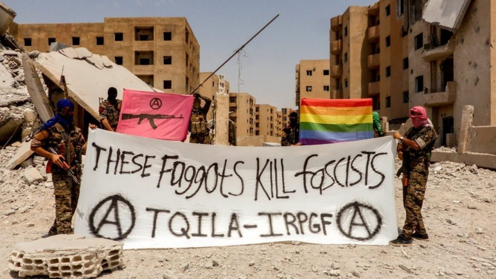 these faggots kill fascists tqila