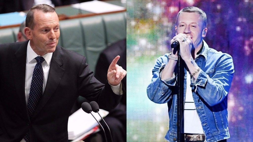 Tony Abbott and Macklemore