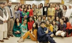 The group that took the Boy Scouts oath (Trans Action Pakistan/Facebook)