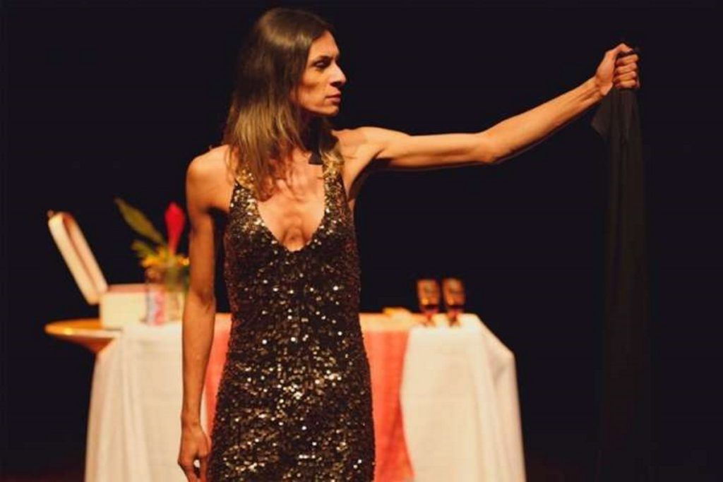 The Brazilian production of The Gospel According to Jesus, Queen of Heaven, starring Renata Carvalho