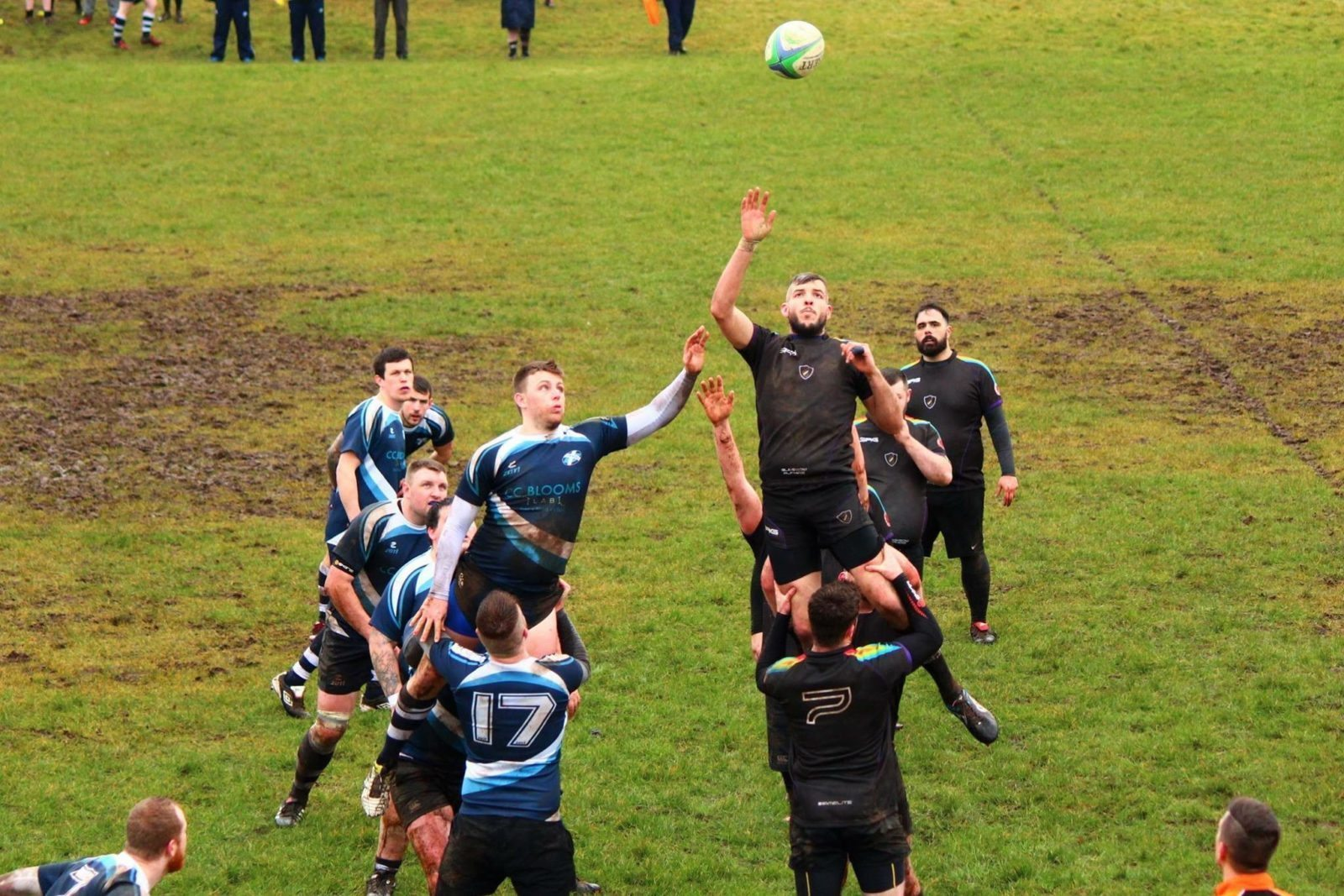 Line-Out rugby photo