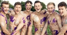 The picture the Warwick Rowers nudes used to illustrate a post celebrating Human Rights Day, which Instagram deleted.