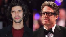 Ben Whishaw and Hugh Grant